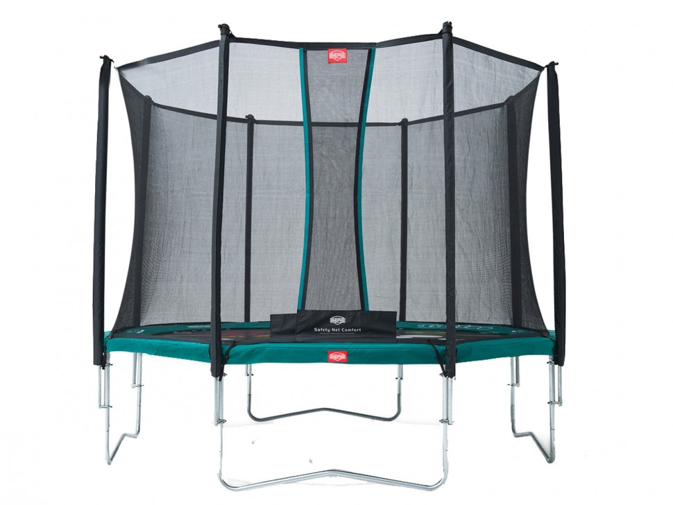 Батут Berg Favorit 430 Tattoo + Safety Net Comfort 430